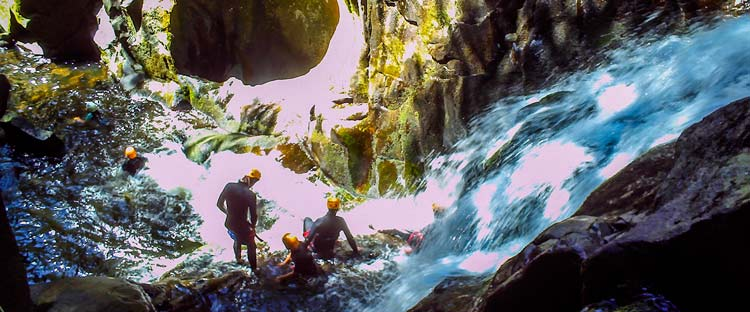 canyoning dordogne